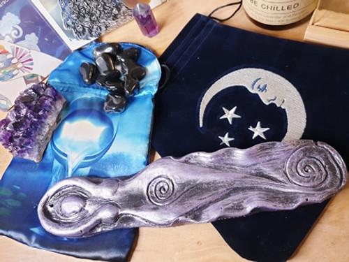 Goddess Incense Holder - Purple