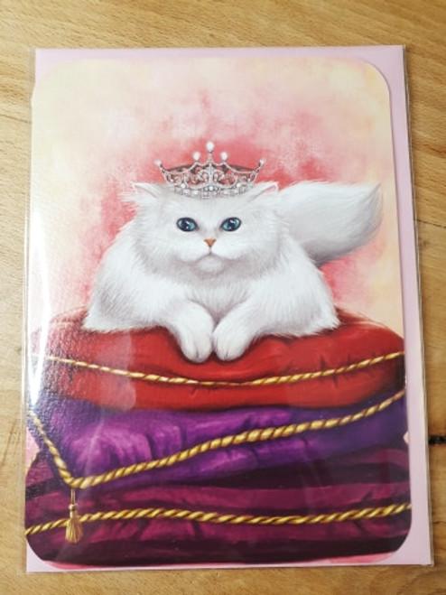Card- Queen of Cats