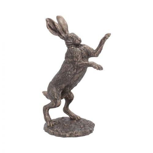 Boxing Hare Figurine