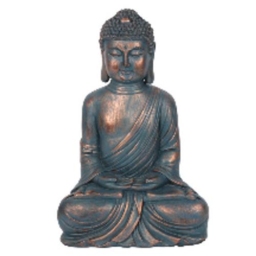 Sitting Buddha (Blue)