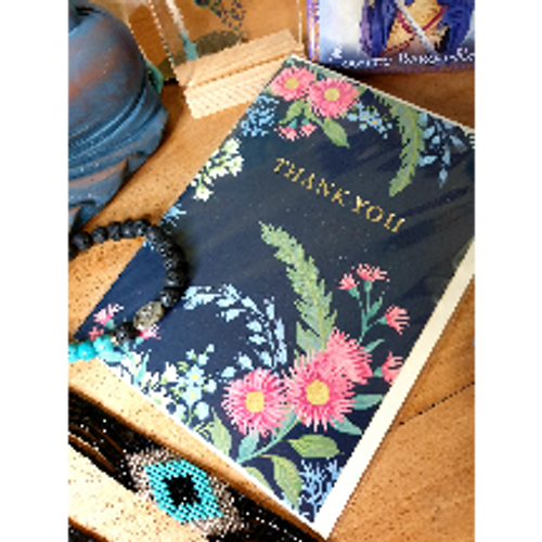 Floral Card - Thank You