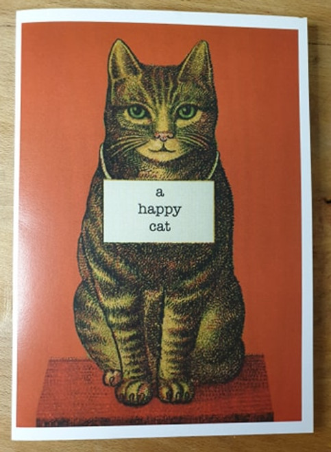 Card - A Happy Cat