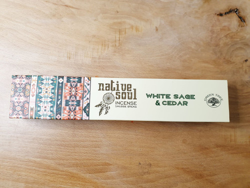 Native Soul Sage & Cedar Incense Sticks