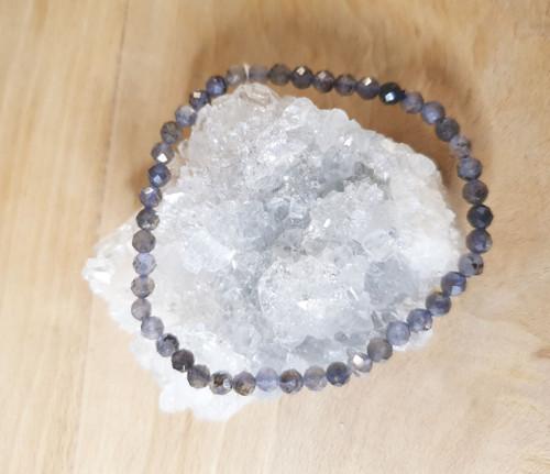 Faceted Bracelet - Iolite