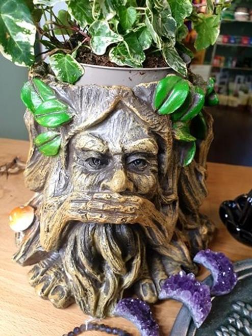 Green Man Plant Pot