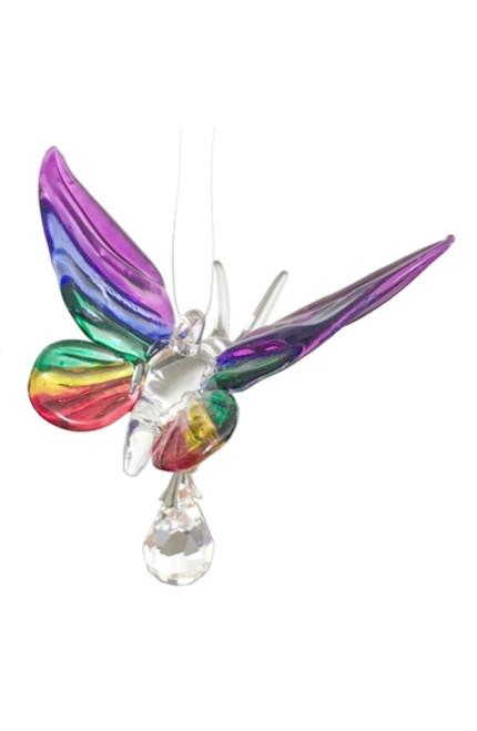 Fantasy Glass Butterfly - Rainbow