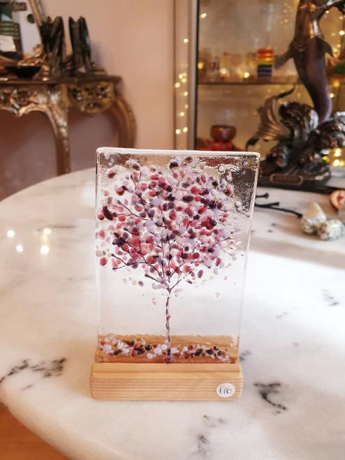 PlumTree Glass Art Stand (by Mauralen)