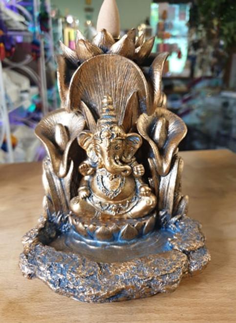 Backflow Incense Burner - Ganesh