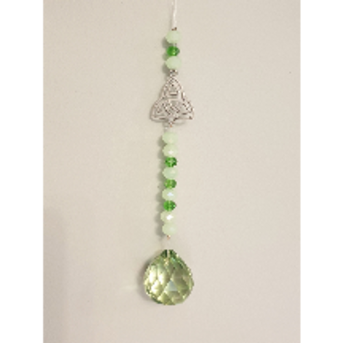 Triquetra Hanging Crystal