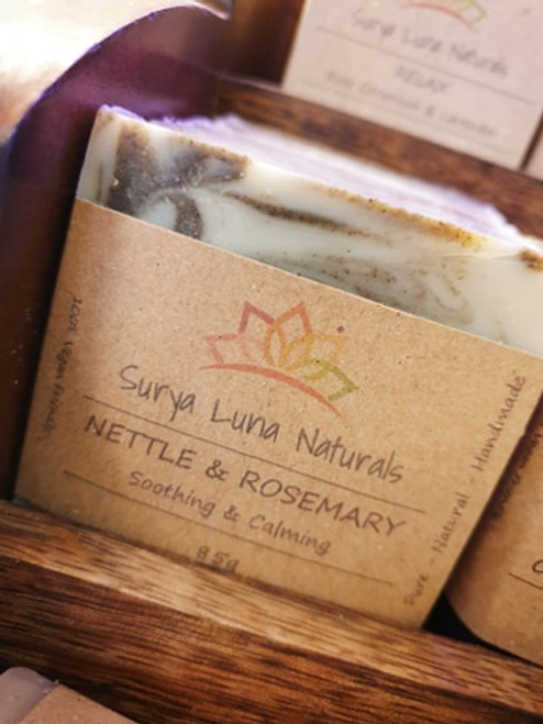 Surya Luna Soap - Nettle & Rosemary