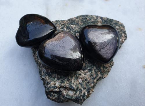 Sheen Obsidian Heart