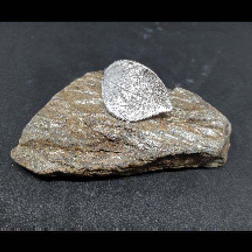 Silver Leaf Ring (adjustable)