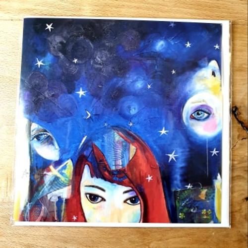 Card - Journey on a Starry Night (A Mizia)