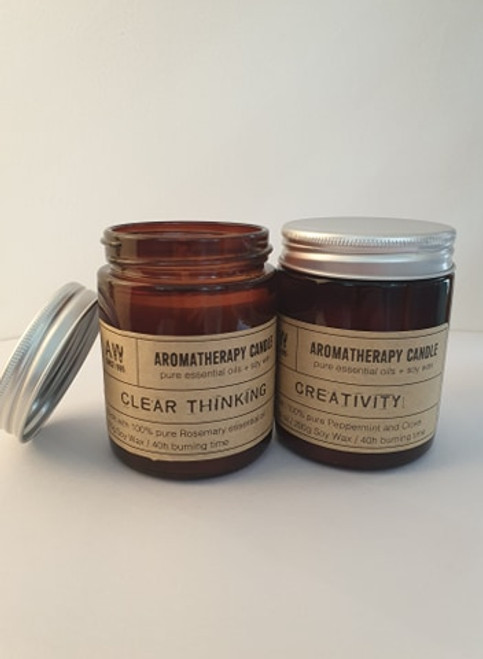 Aromatherapy Jar candle 40hrs - Positive Vibes