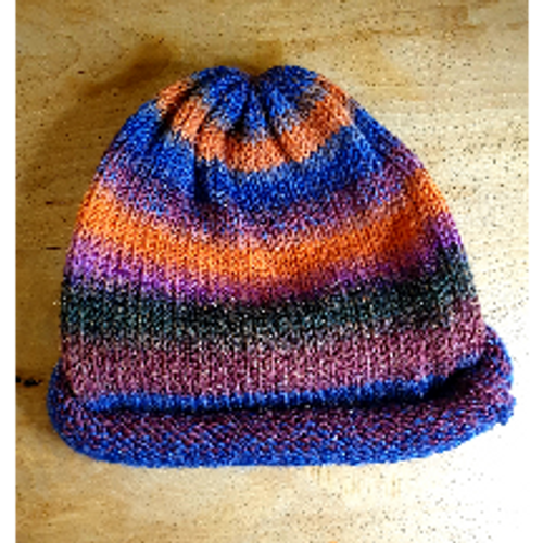 Beanie Hat by Woollyhatz - Autumn Mix
