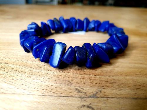 Lapis Lazuli Chunky Bracelet