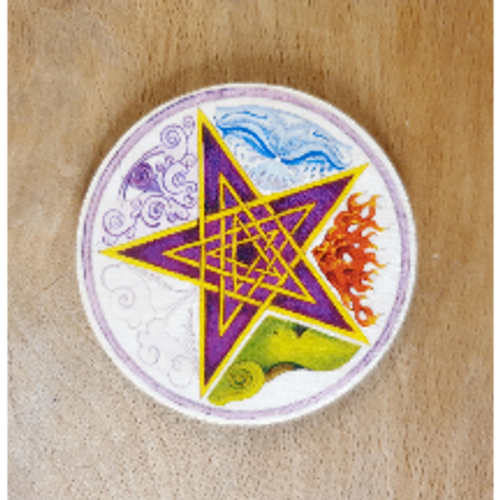 Altar Tile - Pentagram & Elements