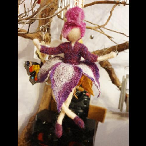 Rosie Berry Wool Fairy by Prissy McWissy