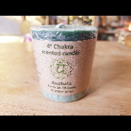 Chakra Votive Candle - Heart