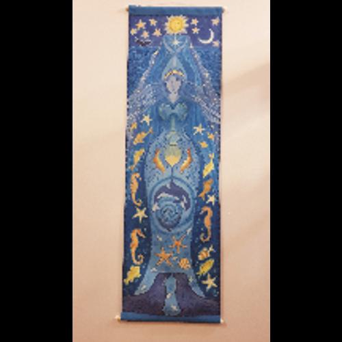 Goddess Wall Hanging - Water Goddess