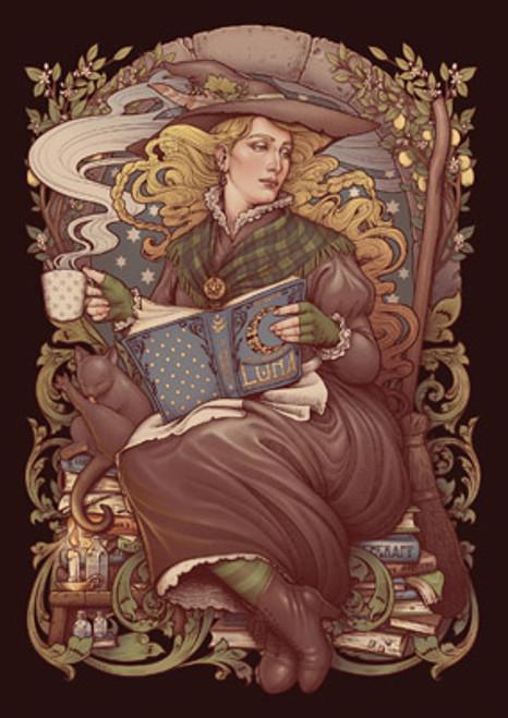 Card - Folk Witch