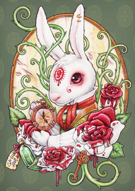 Card - White Rabbit