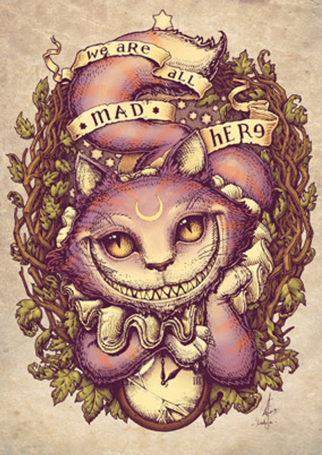 Card - Cheshire Cat