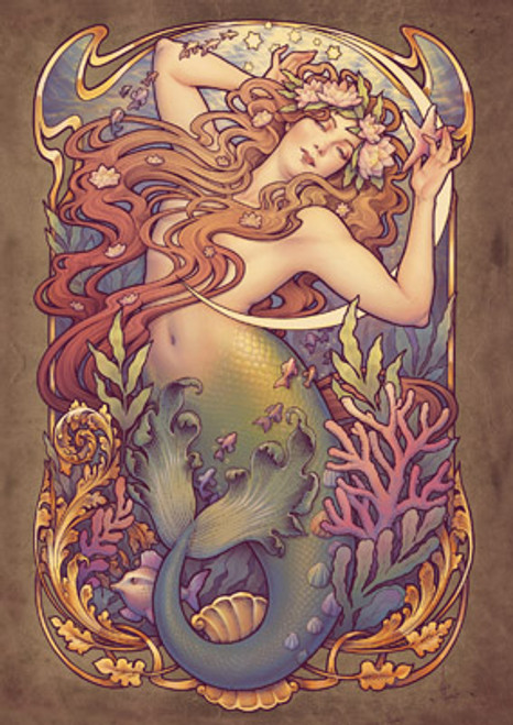 Card - Andersen's Little Mermaid
