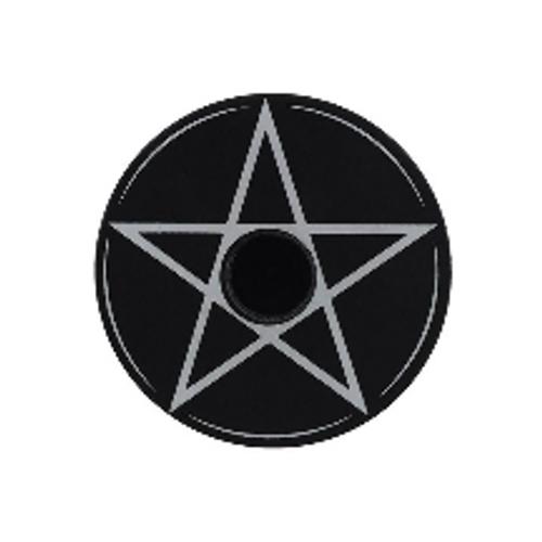 Spell Candle Holder - Pentagram