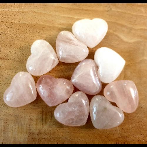 Rose Quartz Heart (30mm)