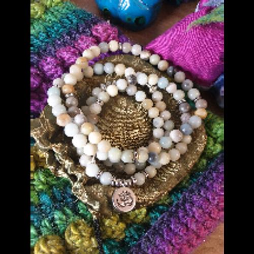 Mala Beads with Ohm Charm