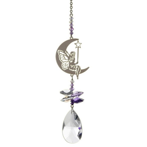 Crystal Fantasy - Fairy with Wand (Purple)