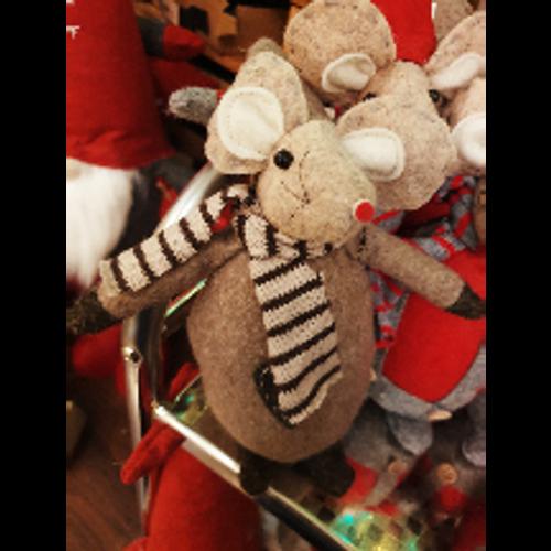 Christmas Mouse (Brown)