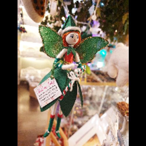 Christmas Fairy - Dark Green