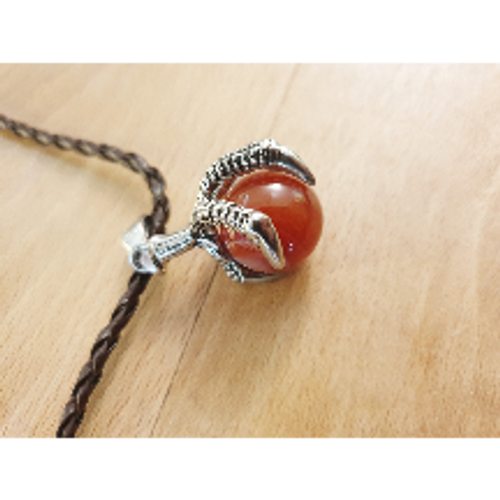Dragon Claw Pendant - Carnelian