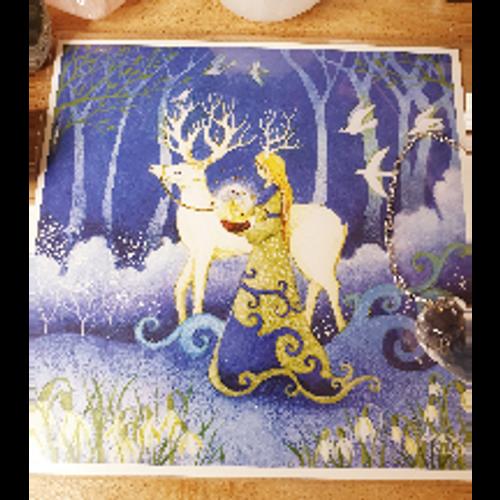 Card - Imbolc, Bringer of Light