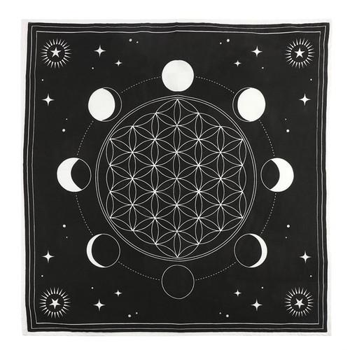 Altar Cloth - Moon Phases