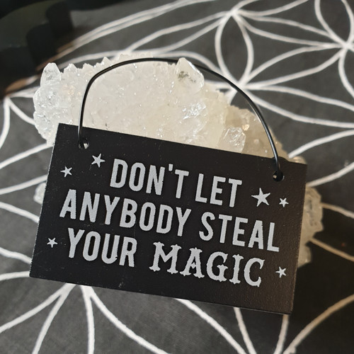 Mini Witch Sign - Steal Your Magic