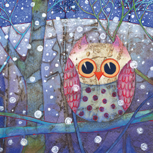 Card - Owl in the Snow