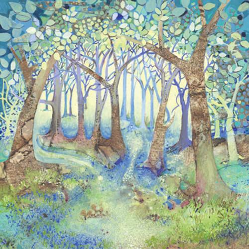 Card - Woodland Blue