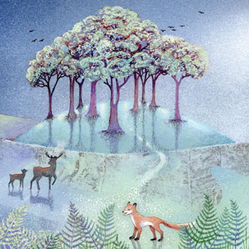 Card - Fox in the Ferns