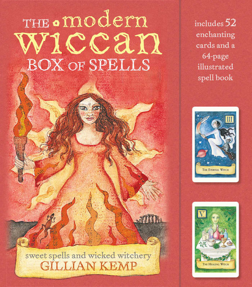The Modern Wiccan Box of Spells Cards