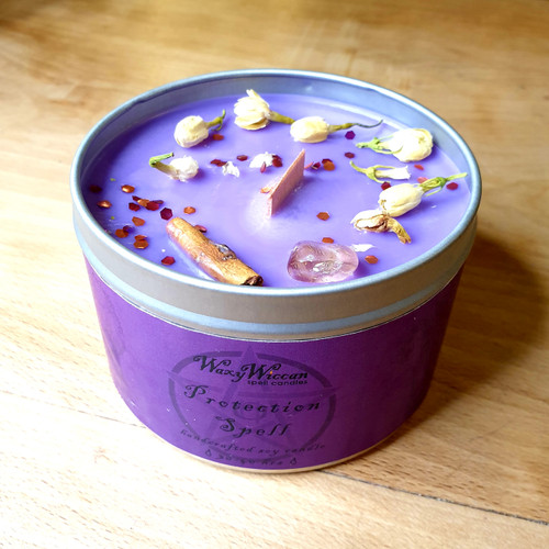 Spell Candle Tin - Protection