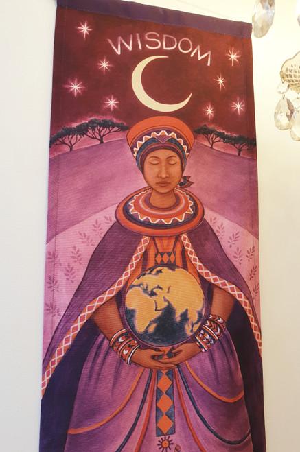 Goddess Wall Hanging - Mawu