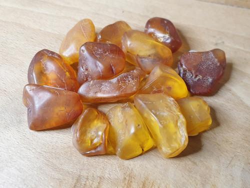 Amber Piece (natural finish)