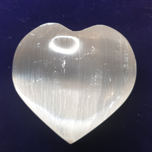 Selenite Heart (50-60mm)