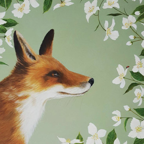 Card - Foxy