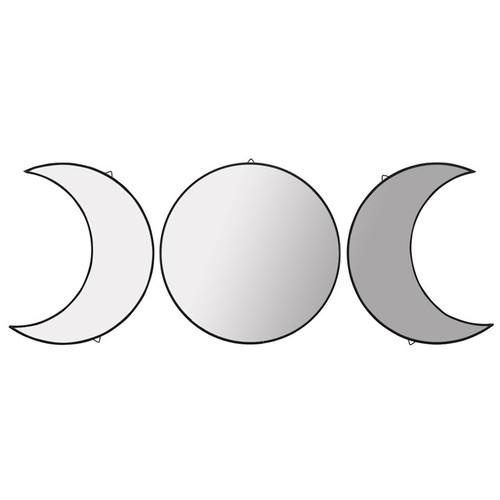Triple Moon Mirror Set