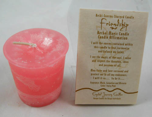 Reiki Votive - Friendship