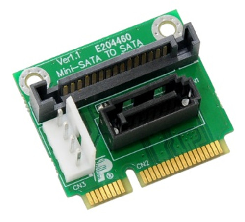 PMMD V1.1 (SATA to mini-SATA adapter with SATA power)